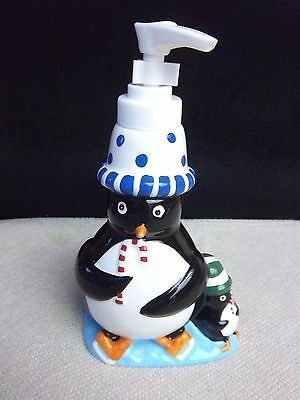 New Penguin Lotion Holder Excellent Condition