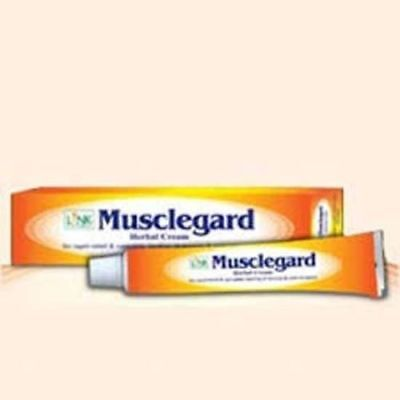 Link Natural Musclegard Herbal Cream 25g Quick Relief for Backache &Muscle Pain