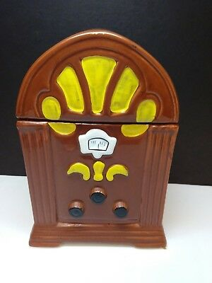 Vintage Old Time Radio Cookie Jar