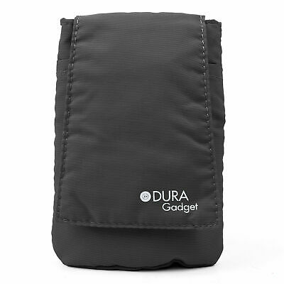 Durable and Padded Soft Phone Pouch Case for Sony Xperia SP in Smart Black