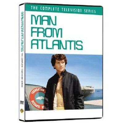 MAN FROM ATLANTIS the complete TV series. Patrick Duffy. Region free. New DVD.