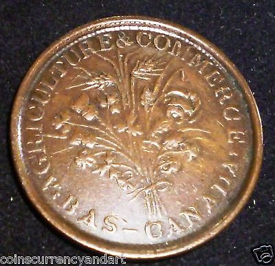 Lower  Canada  Token  LC-31A