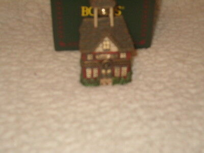 Boyds Bears Treasure Little Red Schoolhouse 1st Edition