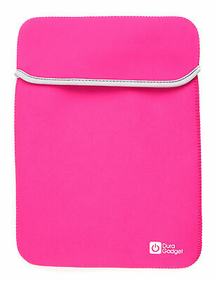 Reversible Pink & Black Neoprene Case / Sleeve / Pouch for Jide Remix