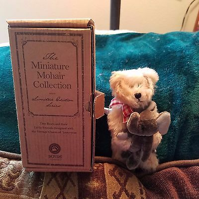 Boyds Bears Limited Miniature Mohair Collection Jackson Retired New!