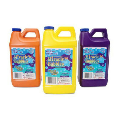 Darice 1021-13  Miracle Bubbles Solution Refill 64-Ounce Bottle Colors May Vary
