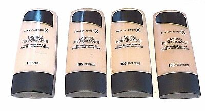 Max Factor Lasting Performance Long Lasting Foundation - Please Choose Shade:
