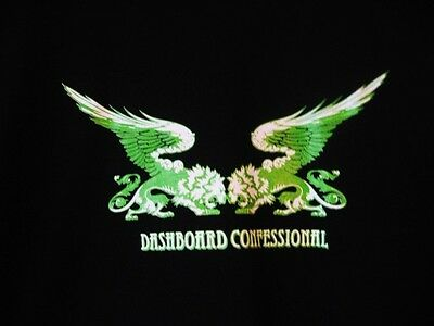 DASHBOARD CONFESSIONAL...T-SHIRT...NEW...sz LARGE