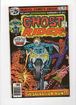 Ghost Rider #18 (Jun 1976, Marvel) - Very Fine