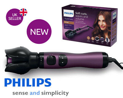 Philips HP8668 AirStyler Wet Hair Hairdryer Curler Brush Ion Keratin Styler 800W