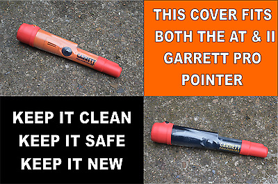 Cover To Fit Garrett At Pro Pointer  Fits Both At/ii Models (Red/clear).