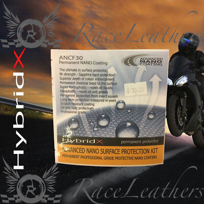 Hybrid-X Advanced Nano Coating Surface Motorcycle Paint Protection Kit 9H