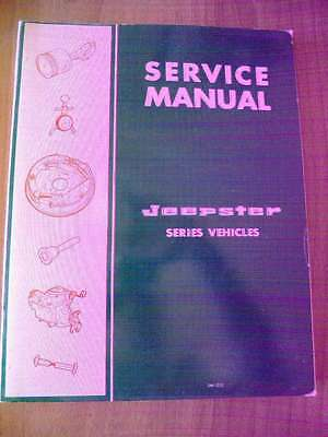 KAISER JEEP - SERVICE MANUAL JEEPSTER e JEEPSTER COMMANDO 1967