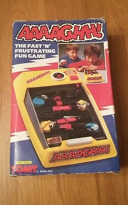 Tomy Tricky Traps  (AAAAGHH!) retro hand held battery operated game Boxed