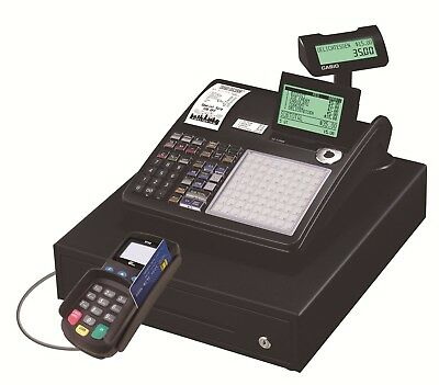 Casio Cash Register W CREDIT CARD READER. FOR FREE. MERCHANT ACCOUNT REQUIRED