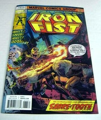 Iron Fist #73 Mike Perkins Marvel 3D Lenticular Homage Variant $3 Flat Rate Ship