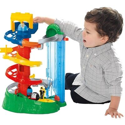 Fisher Price Thomas & Friends Rail Rollers Spiral Station Tower Playset Ball NEW