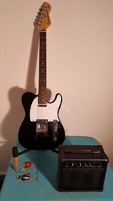 "Electric Guitar E2BLK ""Package Deal"" by Encore (E2B P11)"