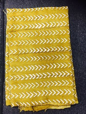 Mustard Color Mud Cloth
