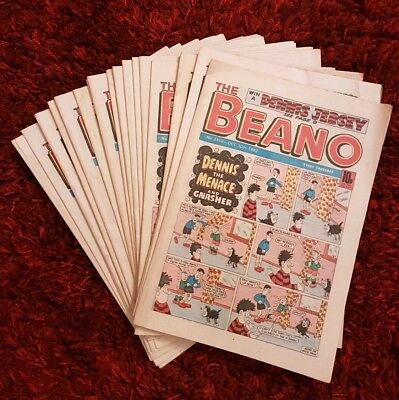 BEANO COMICS from 1982 Vintage Collectable * Rare* Buy 3 get one FREE
