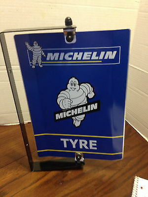 Vintage Style Michelin Man Tires Spinner Advertising Sign, Garage Mancave!!