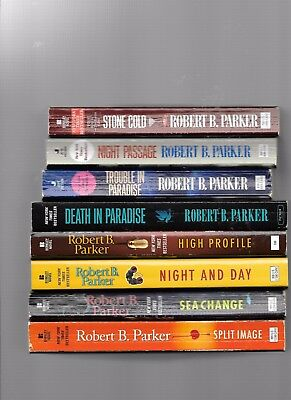 Lot  Of 17  Robert B  Parker  Pbs-  1-6, 8-9 Jesse Stone And  9 Spenser  Series