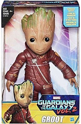 "Les gardiens de la galaxie Vol.2 Baby Groot 10 ""Figurine Exclusive Hot Toys NOUVEAU"