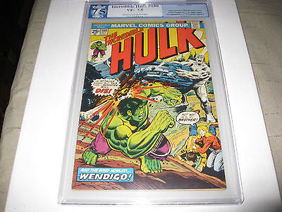 The Incredible Hulk #180 Pgx Universal 7.5 1St Appearance Of Wolverine (Cameo)