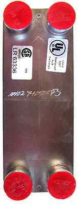 Sweden's SWEP 14 Flat Plate 316L Brazed Heat Exchanger - FREE Priority Shipping!