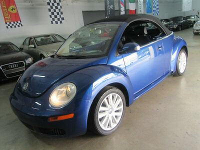 2008 Volkswagen Beetle-New 2dr Automatic SE 57,000 MILES CONVERTIBLE AUTO LOADED FLORIDA NONSMOKER GARAGE KEPT