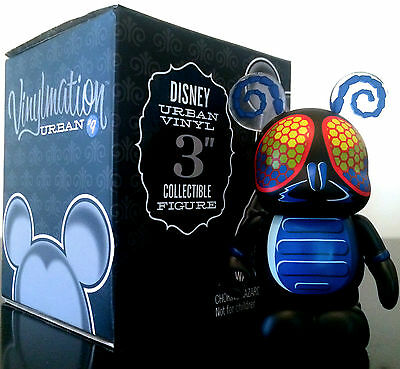 """Disney Vinylmation 3"""" Urban 9 Series The Fly 2012 Collectible Toy Figure New"""