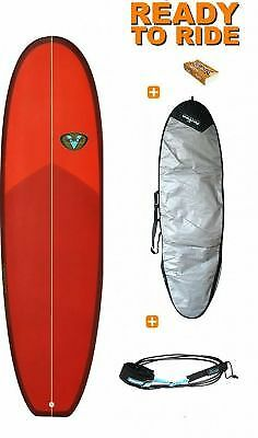 "Surf Hybrid Venon Evo Red 6'4"" type Woombat"