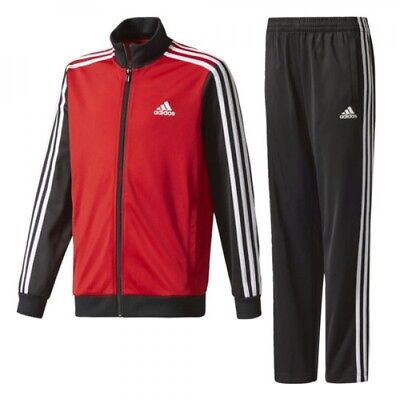 Adidas Boys Training Tiberio TS  Full Tracksuit   CE8600 Age 7 to 14 Years
