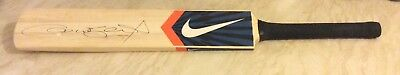 Nike Drive full size autograph cricket bat. Signed by Andrew Flintoff.