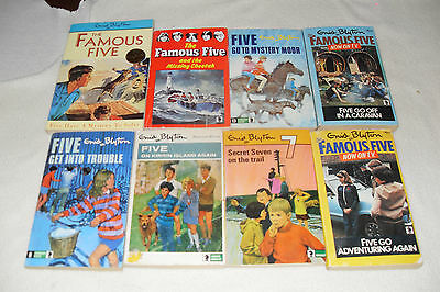Nice Bundle of FAMOUS FIVE by GNID BLYTON      free s/h CAN