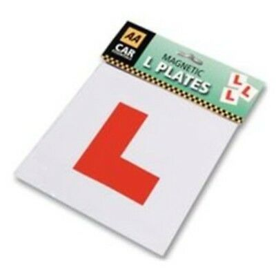 L Plates Magnetic Pack of 2 Top Quality By AA (Automobile Association) UK SELLER