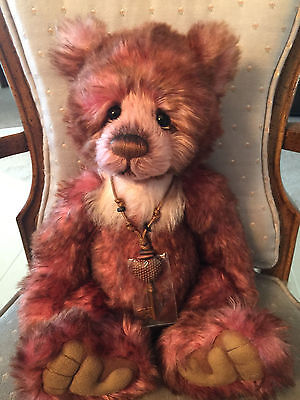 Charlie Bears DUDDLE 2016 Isabelle Mohair Collection FREE US SHIP