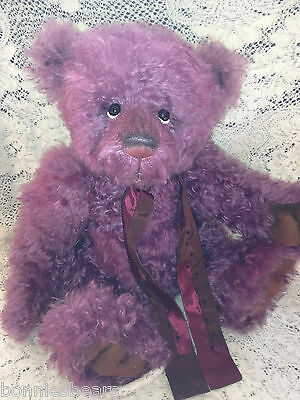 Charlie Bears BUSTER  2013 Isabelle Mohair Collection FREE US SHIP