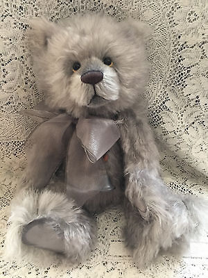 Charlie Bears BODIE 2015 Isabelle Mohair Collection FREE US SHIP