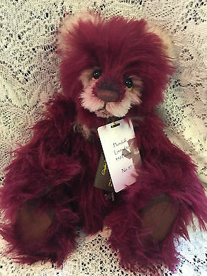 Charlie Bears PLUMDUFF 2015 Isabelle Mohair Collection FREE US SHIP