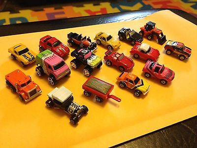 Micro Machines - Lot of 16 - Various Years & Sets - Galoob 1980s Vintage