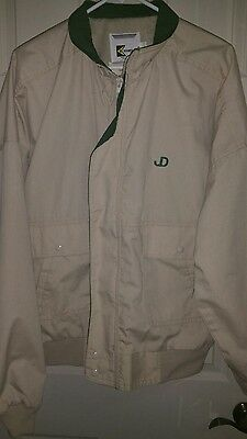 John Deere Tan Jacket JD sz Large