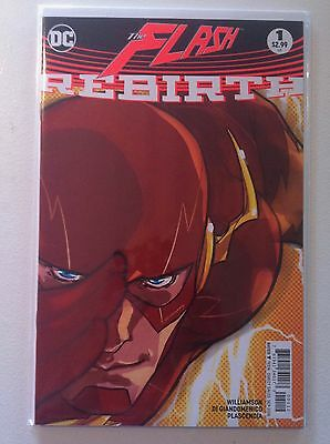 Flash Rebirth #1 Second Printing Variant Cover 1St Godspeed Appearance Nm 2016