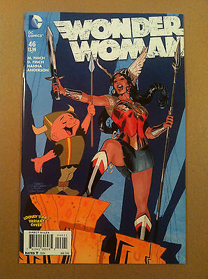 Wonder  Woman (2011) #46 Looney Tunes Variant Cover Terry Dodson Nm 1St Printing