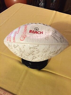 Team Signed OU Football, 1987