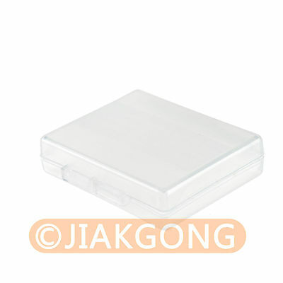 5pcs White Hard Plastic Case Holder Storage Box fo Battery EN-EL12 NP-BG1 NP-BX1
