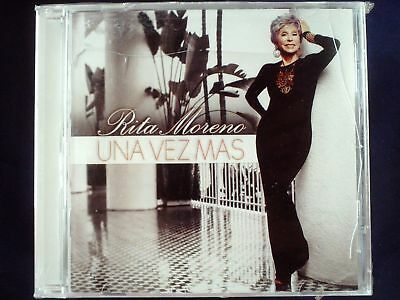 Rita Moreno - Una Vez Mas CD Sealed USA Jewel Case Cracked