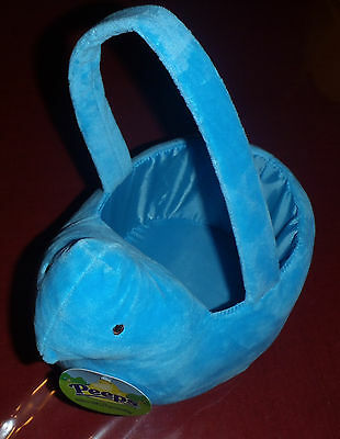 Peeps Easter Basket - Blue -  by Just Born, Inc. - Brand New!