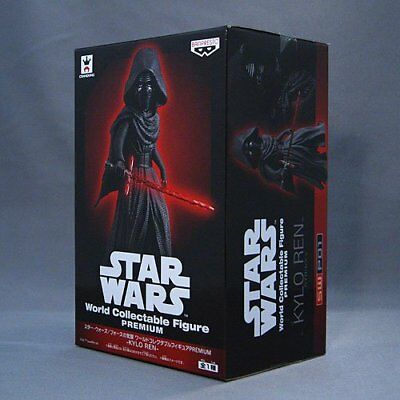 STAR WARS KYLO REN Figure World Collectable Premium by BANPRESTO