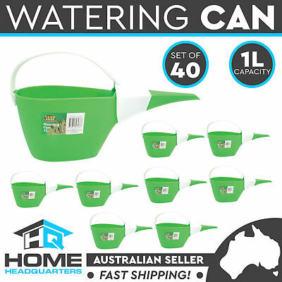 40x Watering Can 1L Garden Patio Flower Plant Tool Plastic Pot Home Decor